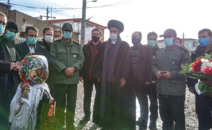 افتتاح یادمان شهدای روستای نیارق