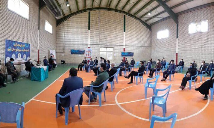 نشست فعالا فضای مجازی با اعضای شورای تامین و رییس شورای فرهنگ عمومی شهرستان نمین
